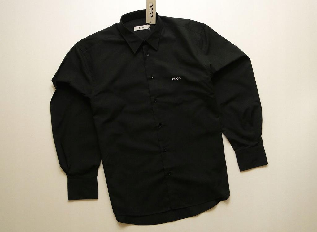 Koszula ECCO Black Classic Shirt / L