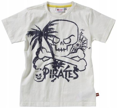 T-Shirt LEGO TERRY 502 biały r.128