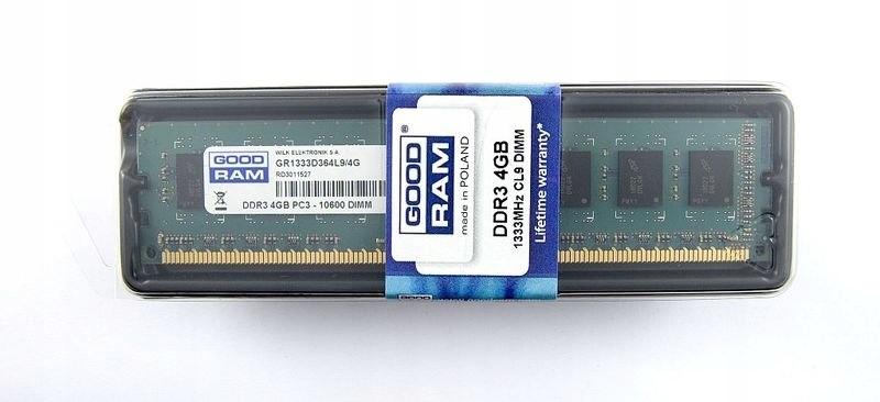 DDR3 4GB/1333 256*8 Dual Rank