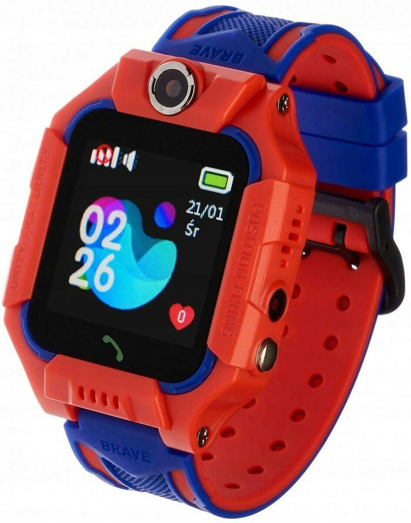 Smartwatch Kids Play Czerwony