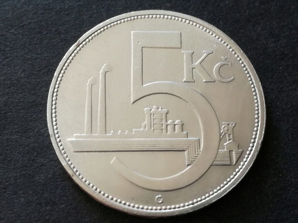 Moneta 5 Koron z 1928r. Srebro!!!