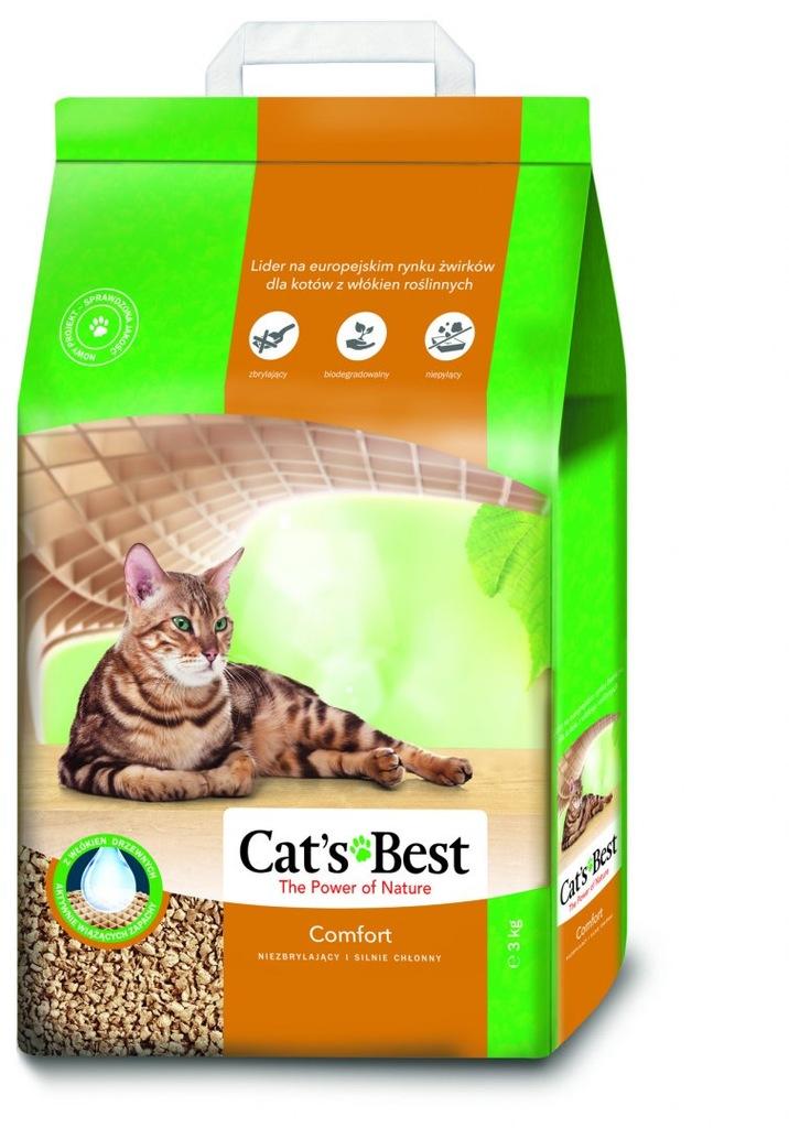 CAT'S BEST Comfort 7l, 3 kg żwirek niez
