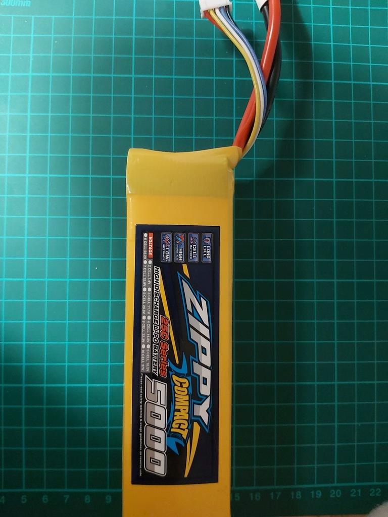 Zippy Compact 25C 5000 mAh 4 s