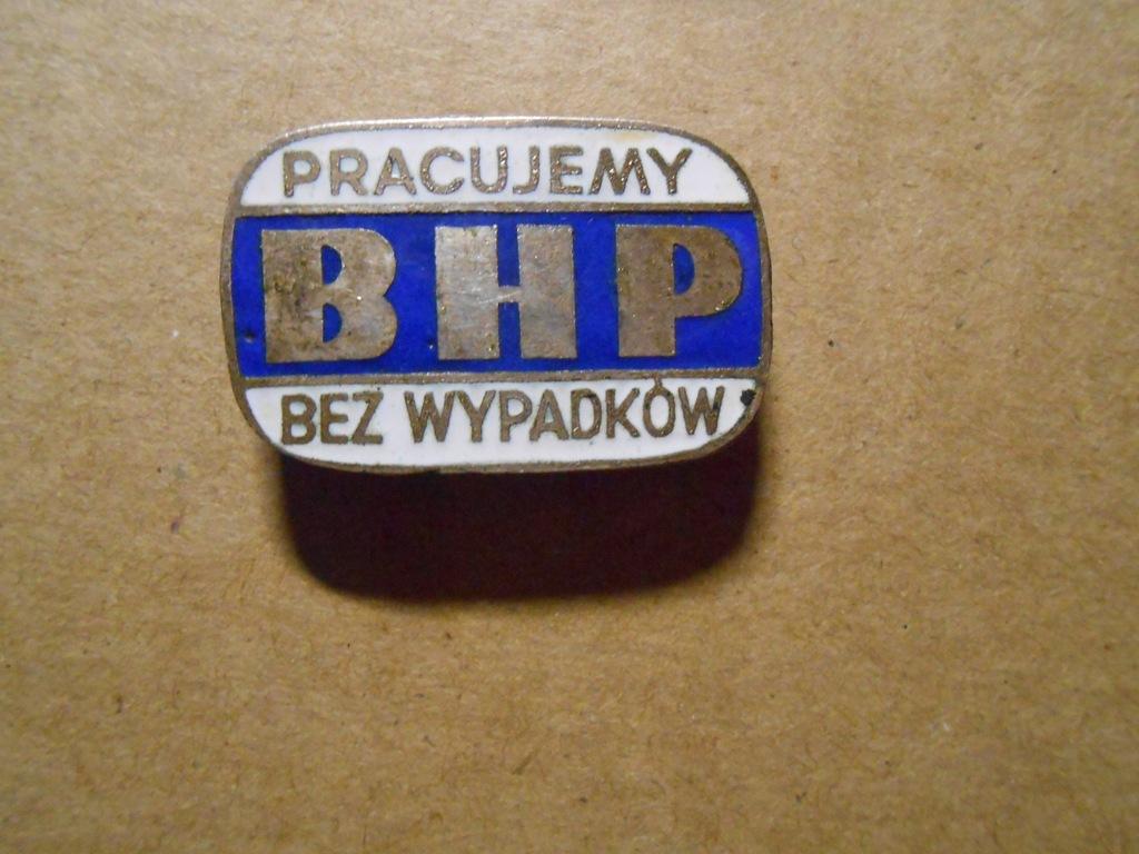 BHP - pracujemy bez wypadków