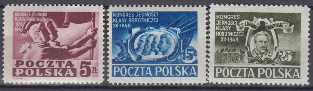 1948r. Fi. 482 - 484** Kongres Jedności