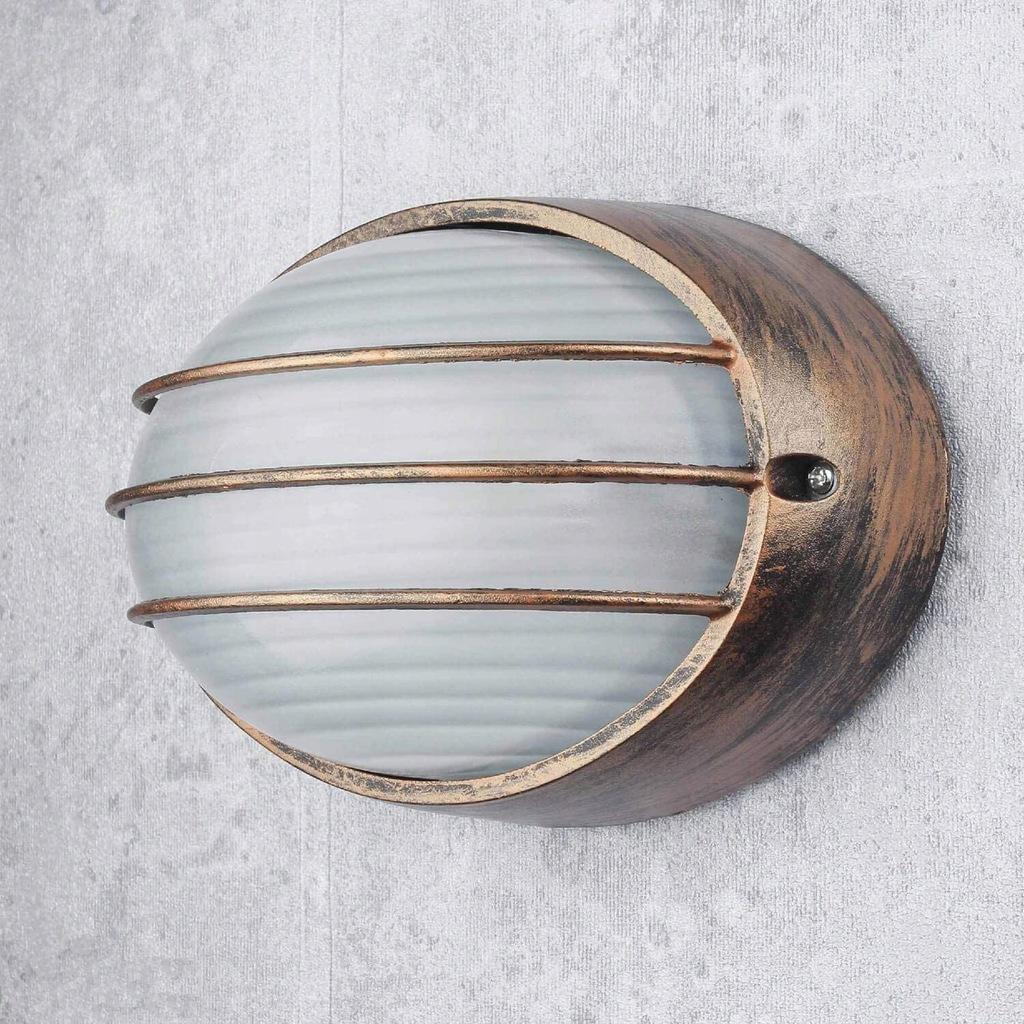 Zewnętrzna lampa ścienna E27 22cm