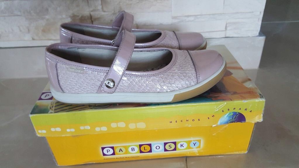 Pablosky skórzane buty dla dziewczynki 34