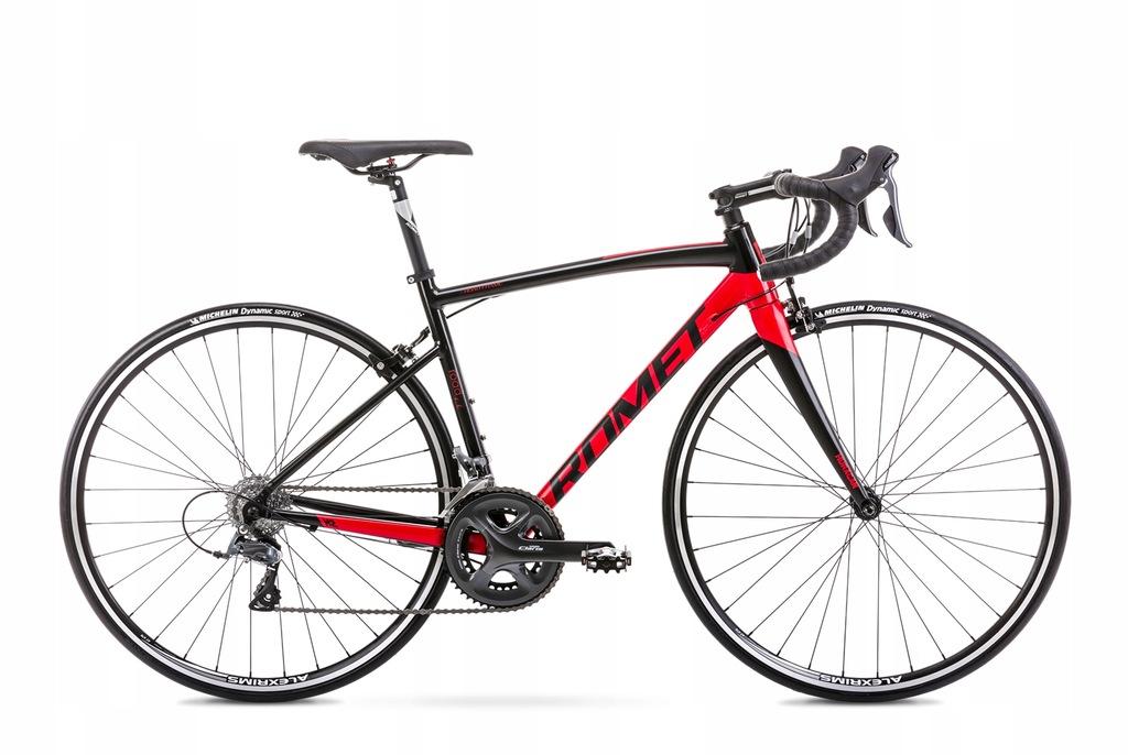 2028561 - 47 Rower ROMET HURAGAN 2 czarno-czerwony