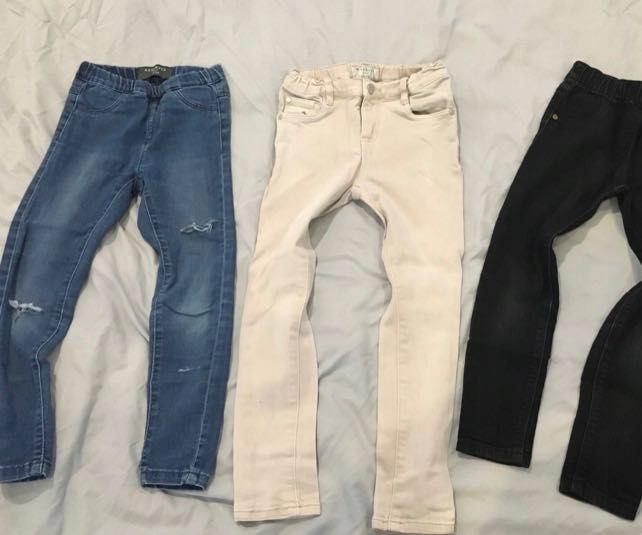 13 par spodni dla dziewczynki 116 h&m 4f