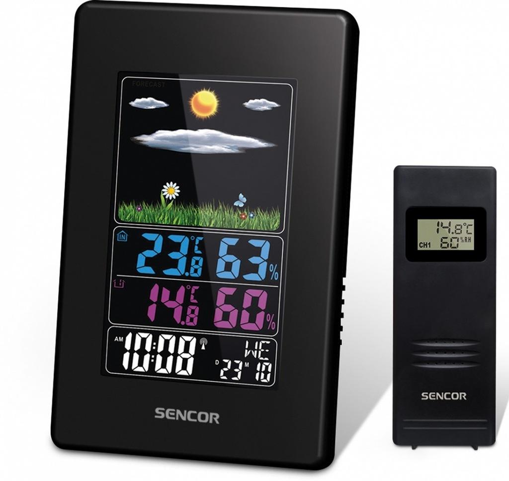 Stacja pogody SWS 4000 stacja pogodowa wys LCD