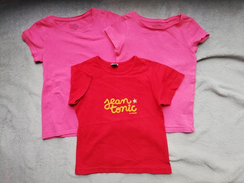 T-shirt koszulka 3 szt 104 Palomino