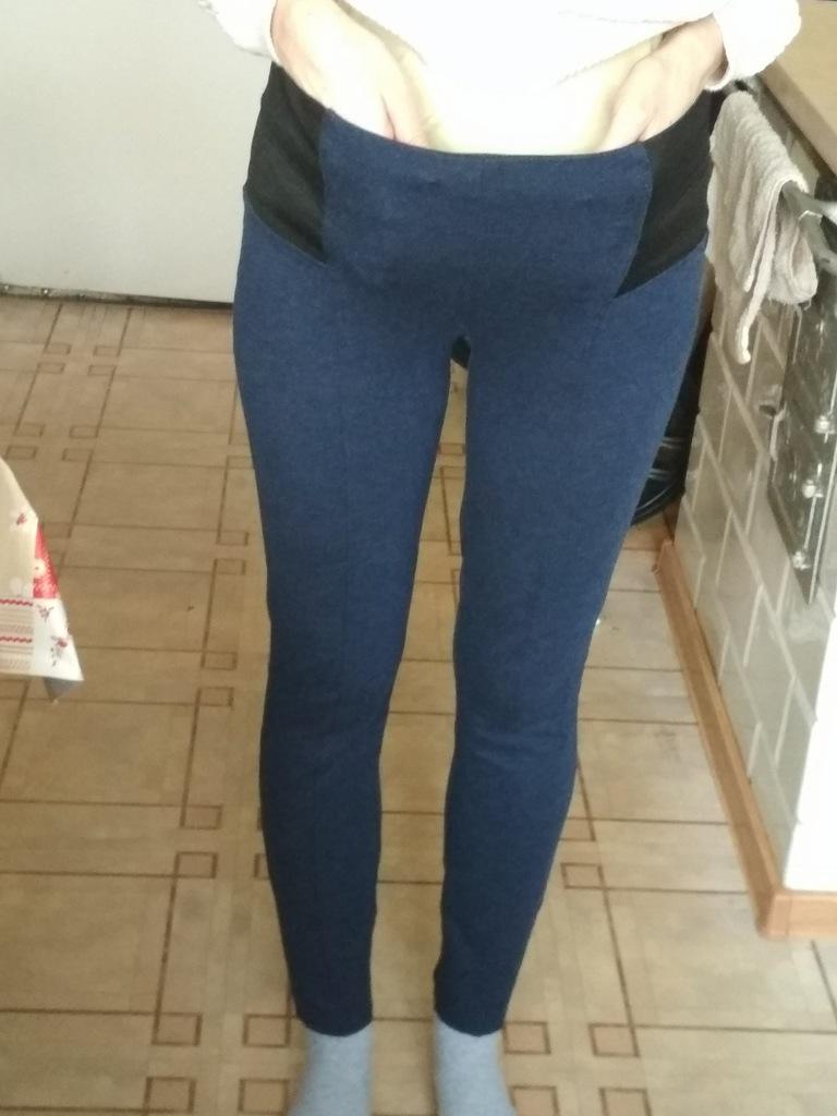 New Yorker Jeansy Spodnie damskie na gumce L 40 w Spodnie