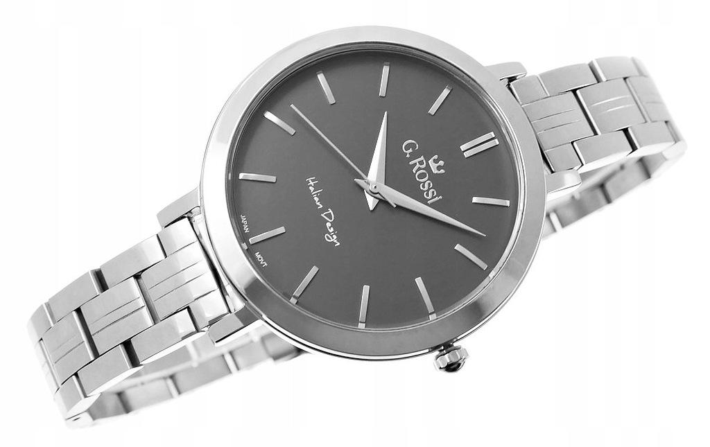 Zegarek Damski Gino Rossi 11389B-1C1 tarcza tytan