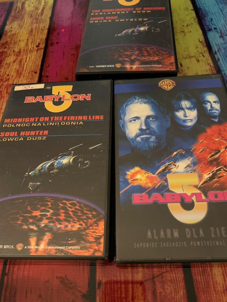 Babylon 5 trylogia VHS