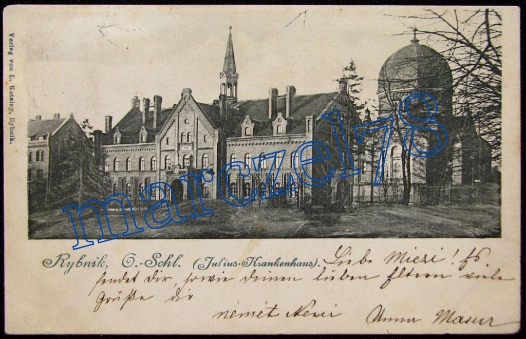 RYBNIK - ZESPÓŁ SZPITALNY JULIUSZ 1901