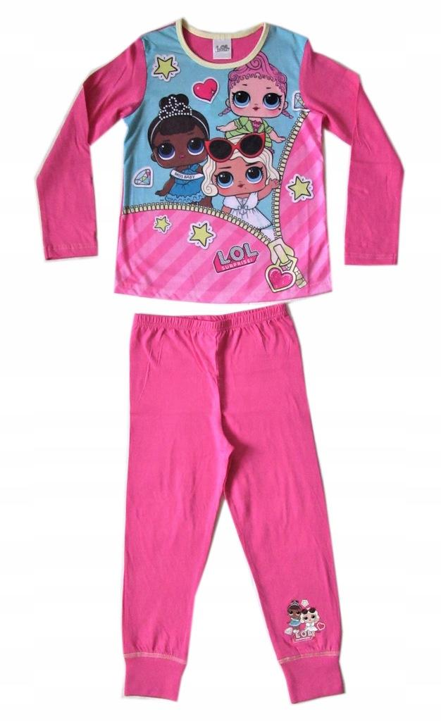 LOL SURPRISE piżama dziewczęca na 128 cm AKH11