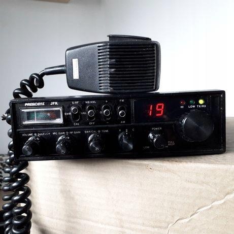 RADIO cb president JFK 10 WAT