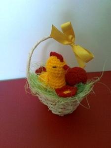 Koszyczek na Wielkanoc mały
