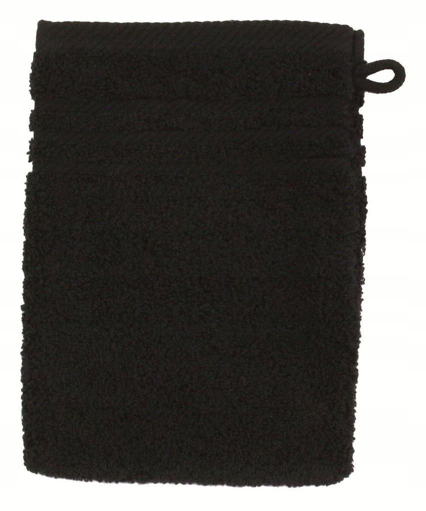 Rękawica kąpielowa myjka frotte Greno czarna