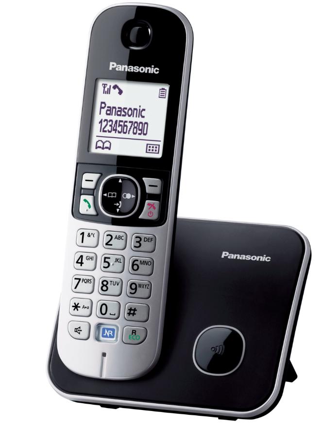 PANASONIC KX-TG6811 telefon bezprzewodowy LCD