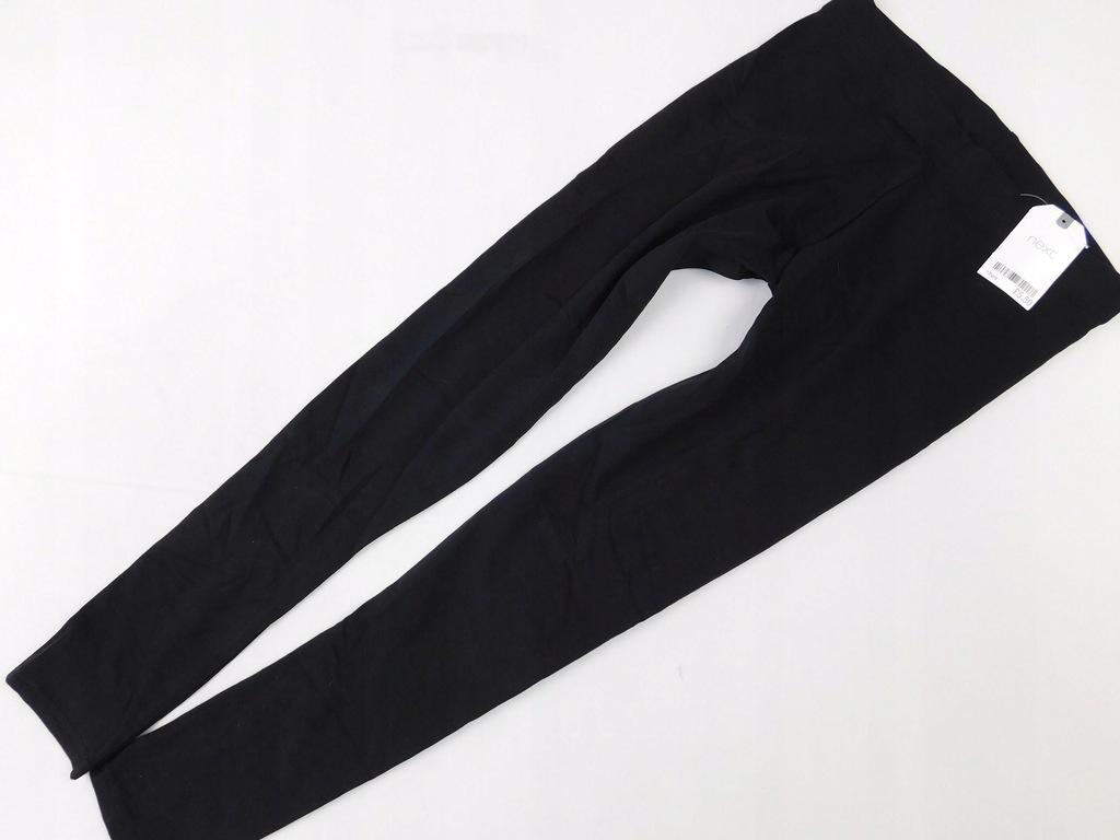 1712n128 NEXT _ legginsy czarne _ 152 cm