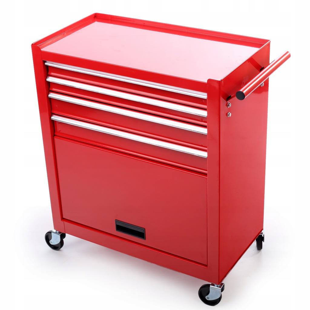 Szafka warsztatowa wózek narzędziowy 4 szuflady