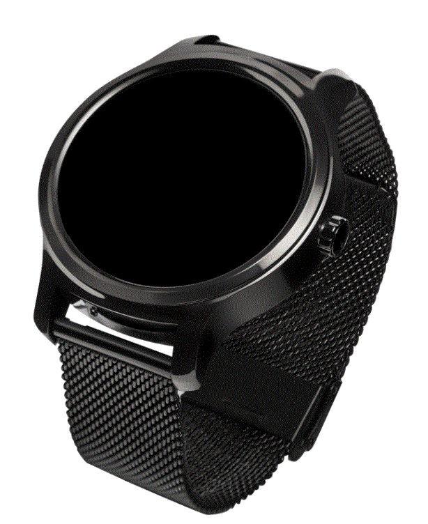 Smartwatch Touch 2.6 Black 3xPasek BLT IP67