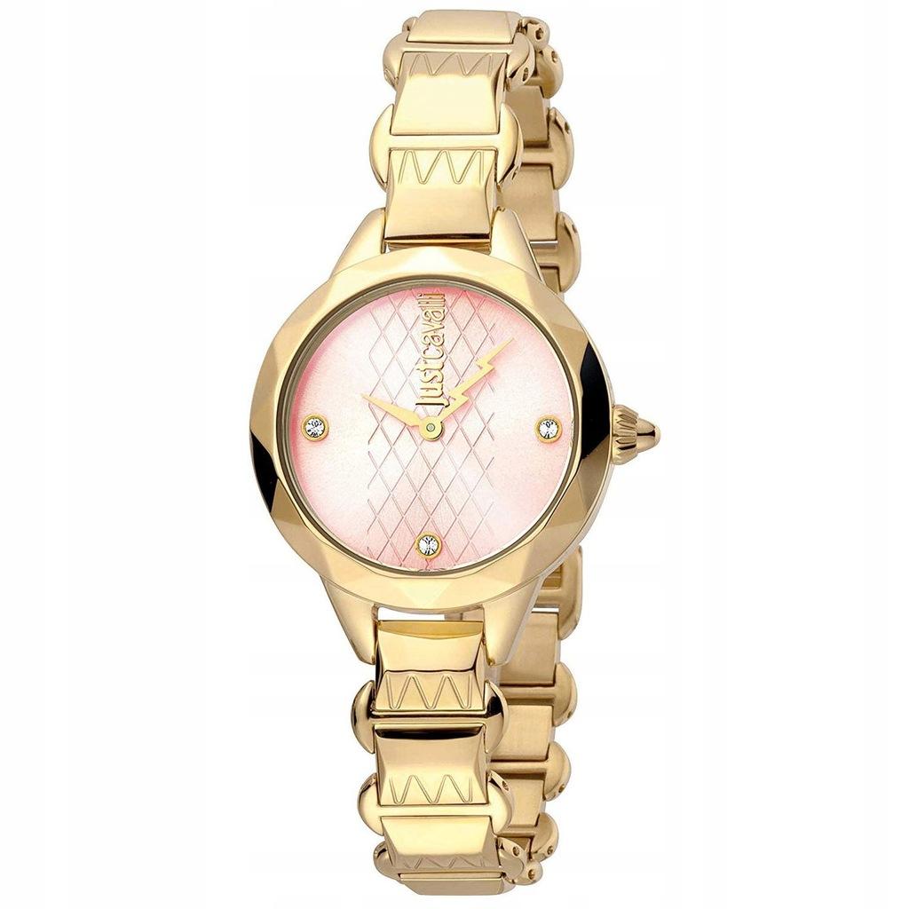 Zegarek damski Just Cavalli JC1L033M0035 Złoty