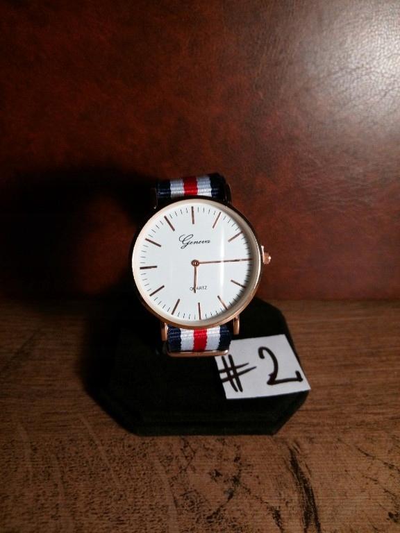 Zegarek damski lub męski unisex Geneva Quartz #2