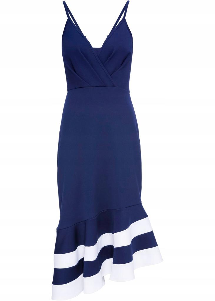 D304 BPC Sukienka na ramiączkach r.40/42