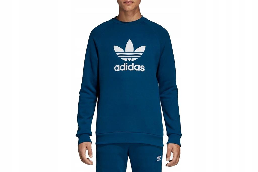 Bluza męska Trefoil Crew Adidas Originals (legend marine
