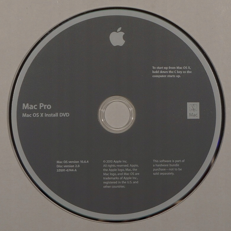 MAC PRO - OS X 10.6.4