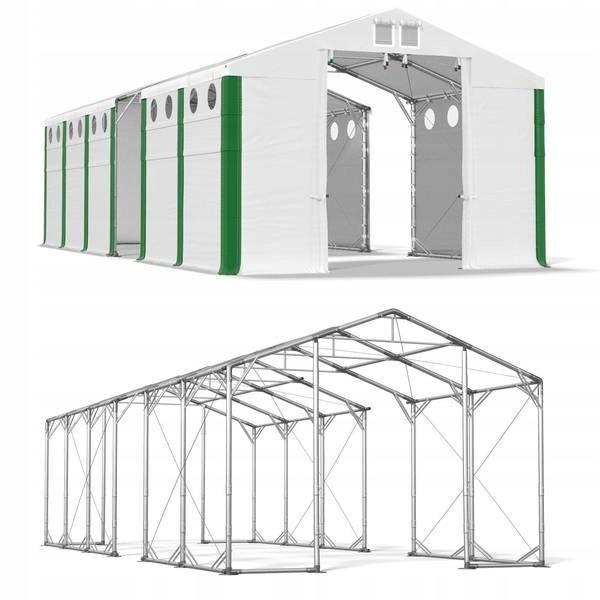 6x29m 4-5,1m Namiot magazynowy stabilny garażowy