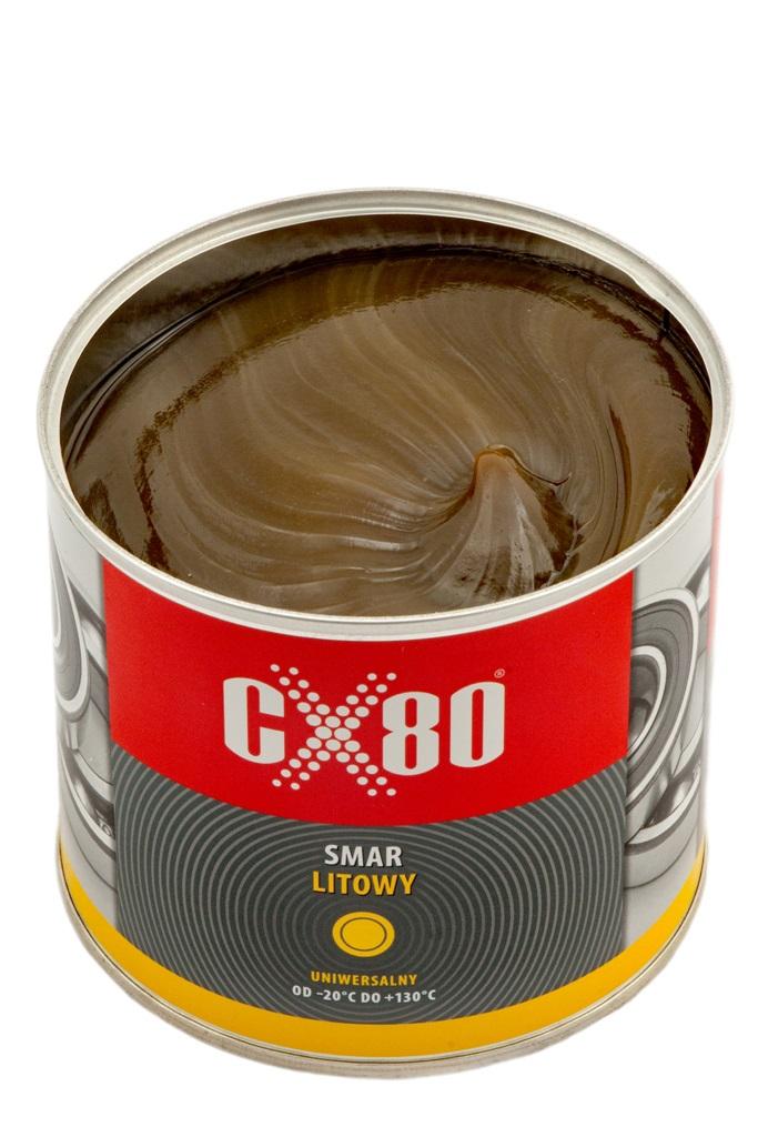 Smar Litowy do łożysk puszka 500 g CX-80 JAKOŚĆ