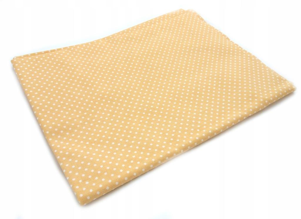 TKANINA BAWEŁNIANA bawełna kropki groszki 53x150cm