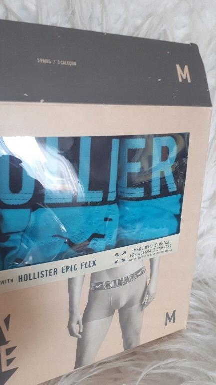 bokserki Hollister Panty M komplet oryginał nowy