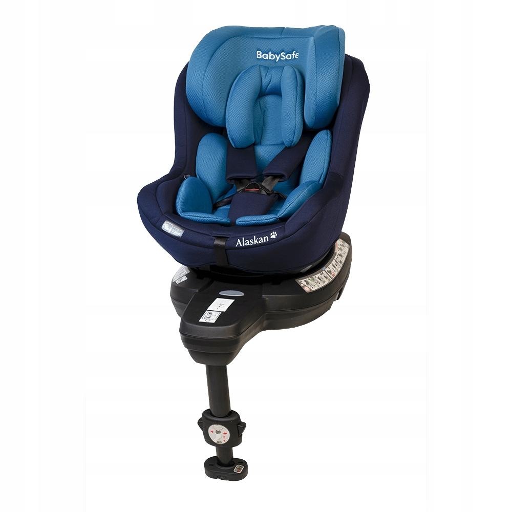 Fotelik BabySafe Alaskan Blue 0-18kg RWF Wa-wa