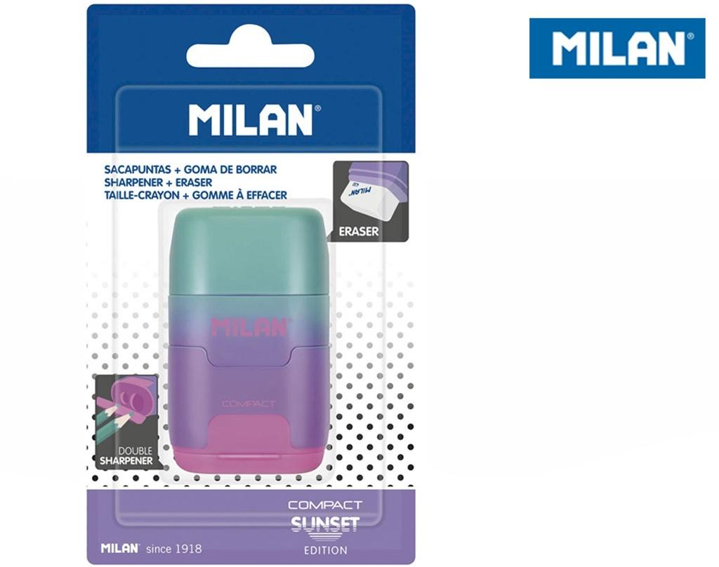 Temperówko-Gumka Compact Sunset MILAN