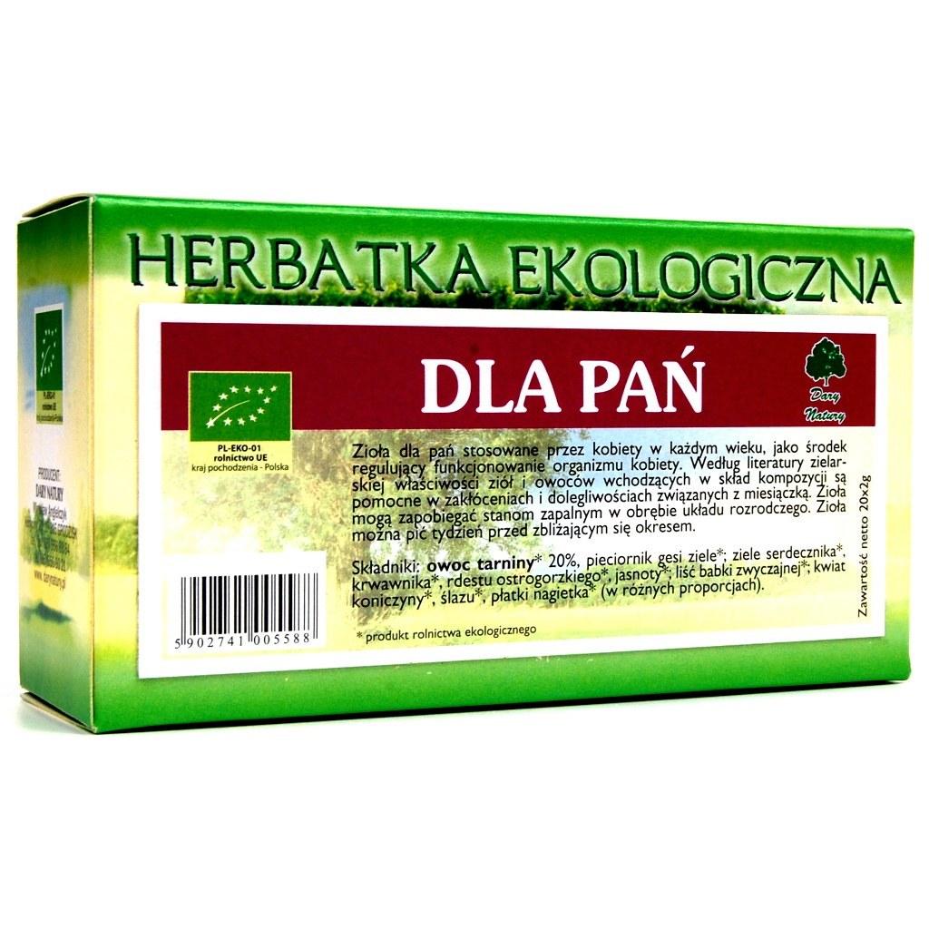 HERBATA DLA PAŃ FIX BIO 20*2G DARY NATURY