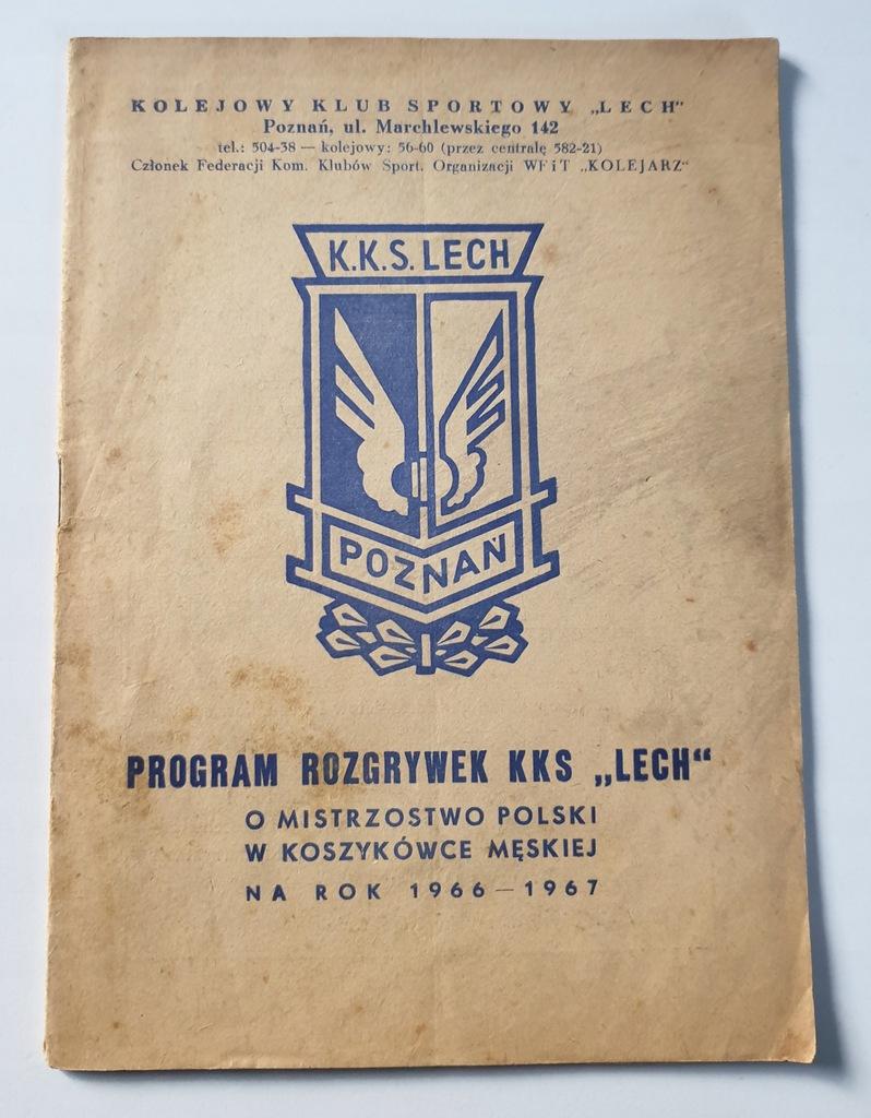 PROGRAM KKS LECH O M.P. W KOSZYKÓWCE 1966/1967