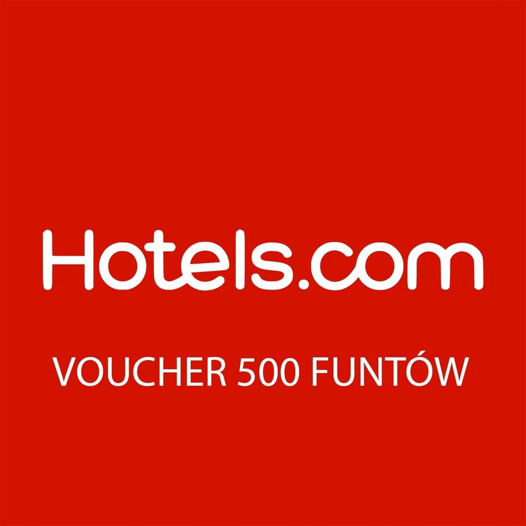 Hotels.com - Voucher 500 funtów