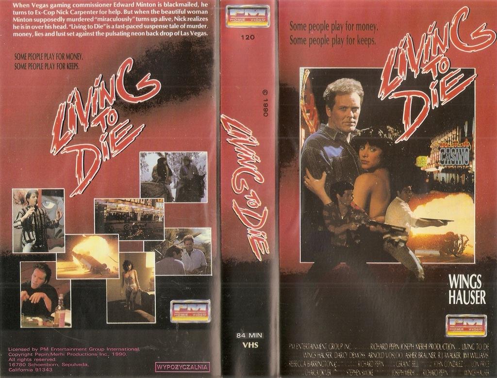 Żyć aby umrzeć - VHS