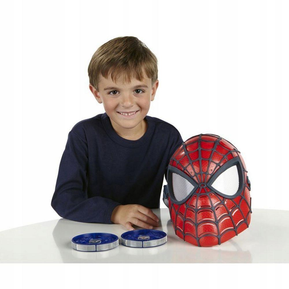 Spiderman maska przebranie świecąca WYSOKA JAKOŚĆ