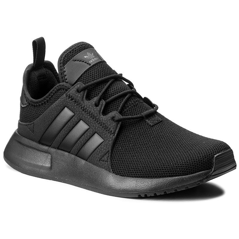 Buty adidas X_PLR J dla dzieci całe czarne All Black