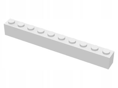 New 6111 1 szt. White Brick 1 x 10