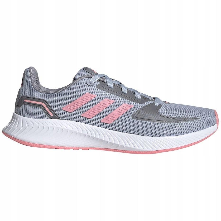 Buty dziewczęce adidas Runfalcon K szare 36 2/3