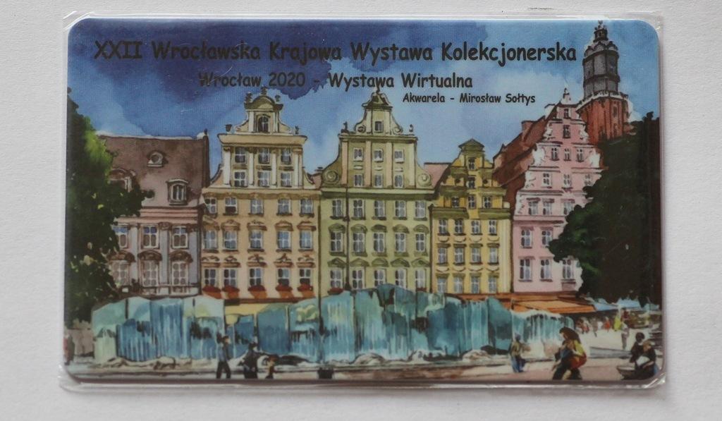 Karta XXII Wrocławska Krajowa Wystawa Kol 2020