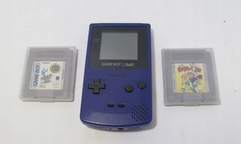 KONSOLA NINTENDO GAMEBOY COLOR CGB-001+ 2 GRY