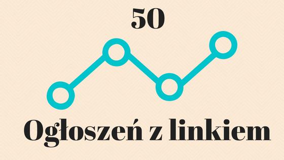 50 ogłoszeń z linkiem na portalach ogłoszeniowych