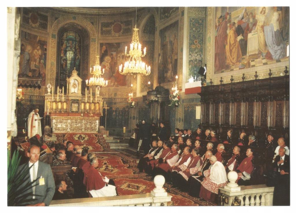 Płock. Wizyta Jana Pawła II 1991r. Katedra Synod